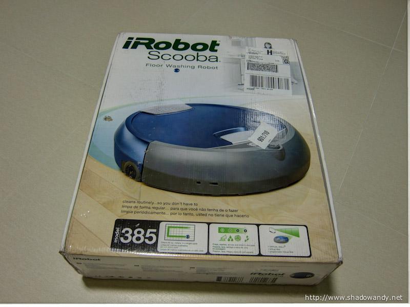 Irobot Scooba 380 385 Floor Washing Robot Shadowandy
